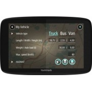 "Sistem de navigatie TomTom Go Professional 620, Ecran 6"" + Camera video auto Smailo RideX, LCD 1.5"", WDR, Senzor G, Full HD (Negru)"