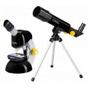 SET MICROSCOP CU TELESCOP - BRESSER - NATIONAL GEOGRAPHIC (BRS9118400)