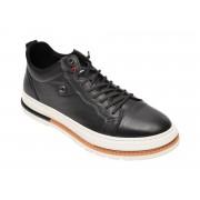 Pantofi BITE THE BULLET negri, 938323, din piele naturala