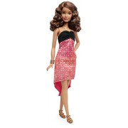Barbie Fashionistas Petite Coral Red, Multi Color