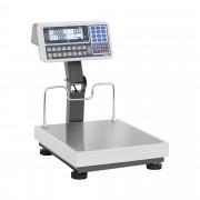 Árszorzós mérleg magas jelzővel - hitelesített - 60 kg/20 g - 150 kg/50 g