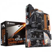 Дънна платка GIGABYTE H370 AORUS GAMING 3 WIFI, Socket 1151 (300 Series), RGB Fusion, GA-MB-H370-AORUS-GAMING3