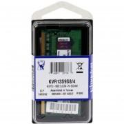 Memoria Sodimm DDR3 Kingston 4 GB 1333 Mhz KVR13S9S8/4-verde