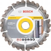 Bosch dijamantska rezna ploča Best for Universal 150 x 22,23 x 2,4 x 12 mm - 2608603631
