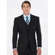 Perizzi Slim Fit Black Suit Jacket