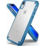 Husa Ringke Fusion iPhone XR Transparent Albastru