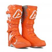Acerbis Crosslaarzen Acerbis X-Team Oranje-Wit - Wit