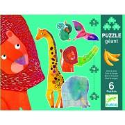 Puzzle gigant animale jungla