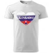 Slovenské detské tričko srdce