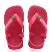 Havaianas Slippers Baby Flipflops Brasil Logo Roze