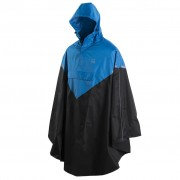 Willex Rain Poncho with Hood Size L/XL Blue and Black 29220