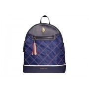 US POLO ASSN Stitched Nylon Backpack Navy