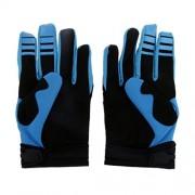 ELECTROPRIME Fox Racing Race Gloves - Motocross ATV Dirt Bike Gear Black L Size