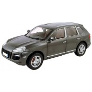 Porsche Cayenne Turbo Diecast Car Model Grey 1/18 Norev