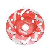 Disc diamantat Tudee 125X22.2mm slefuire beton dur