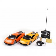 Babysid Collections Remote Control Cars for Boys Kids Gifting Lamborghini Sports Car LP 570 Pack of 1 Car Only Scale 1:14 Sunset Yellow Big Size