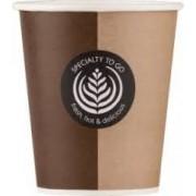 Huhtamaki Drinkbeker of koffiebeker karton 250ml 9OZ Coffee to go cup 2000stuks (CGRVA4634)