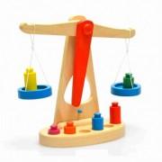 Jucarie Montessori Balanta din lemn