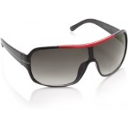 Swiss Design Over-sized Sunglasses(Grey)