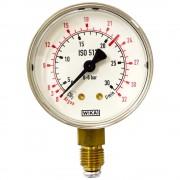 Manometru joasă presiune CO2/Ar G1/4'' Ø63 Scală:0-32l/min
