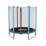 SPORTMANN Trambulina si Plasa de Siguranta 140 cm - Albastru