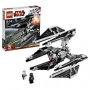 Lego Year 2010 Star Wars Classic Series Vehicle Set #8087 Tie Defender With 6 Flick Launching Missiles And An Opening Cockpit That Rotates Plus Stormtrooper And Tie Fighter Pilot Minifigures (Total Pieces: 304)