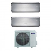 Condizionatore Gree Dual Split Inverter U-Crown 12+12 12000+12000 Btu Wifi Gwhd(21)Nk3ko A++