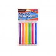 Beco 6x Gekleurde duikstaafjes/opduik speelgoed 20 cm