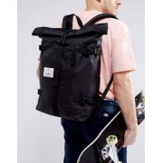 Poler Classic Rolltop Backpack in Black - Black
