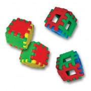 Set 8 cuburi de constructii, 48 piese