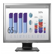 "HP EliteDisplay E190i 18.9"" LED Silver computer monitor"