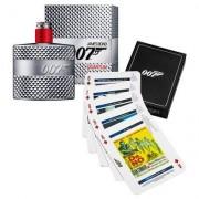 James Bond Kit Perfume Masculino Quantum EDT 50ml + Playing Cards - Masculino