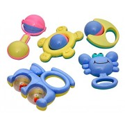 New Born Baby and Infants Non Toxic Plastic Colorful Toys for Infants and Toddlers ( Multi Color ) Toys & Games