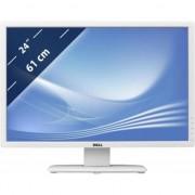 """Monitor LED IPS Dell UltraSharp 24"""", WUXGA, VGA, DVI, DisplayPort, Alb, U2412M"""