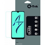 QTek Tempered Glass for Oppo A7 with Free Installation kit