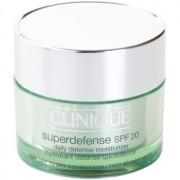 Clinique Superdefense creme de dia protetor e hidratante para pele seca e mista SPF 20 30 ml