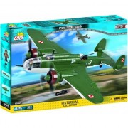 Set de constructie Cobi, WW Planes, PZL P-37B LOS (415pcs)