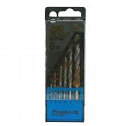 Piranha HI-TECH bullet metaalborenset 160x20 mm 6 stuks X56003