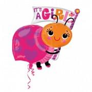 Balon folie gargarita IT'S A GIRL
