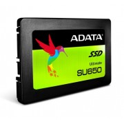 "SSD 2.5"", 240GB, A-DATA SU650, 7mm, 3D NAND, SATA3 (ASU650SS-240GT-C)"