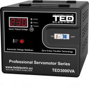 Stabilizator de retea cu servomotor maxim 3000VA / 1800W Ted 3000 (TED ELECTRIC)