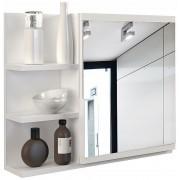 Producent: Profeos Lustro do łazienki Lexi 3X - białe