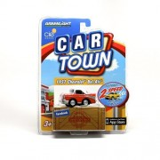 1957 CHEVROLET BEL-AIR (RED) * 2 Speed Pull-Back Motor * 2013 Car Town Series 2 Greenlight Collectib