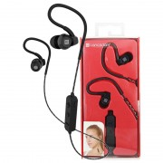Auscultadores Intra-Auriculares Desportivos Bluetooth Langsdom BS80 - Preto
