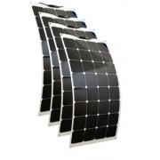 Hajlítható flexibilis napelem 12V 100 wattos 4db