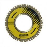 Cermet 140 Exact Tools Disc cu dinti din aliaj ceramic pentru aplicații grele, în special pentru tăierea oțelului inoxidabil și antiderapant