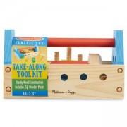 Детска дървенa кутия с инструменти, 10494 Melissa and Doug, 000772104944