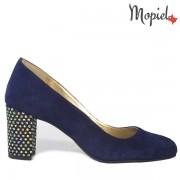 Pantofi dama, din piele naturala 242903/1600/Cam-Blue/Betina
