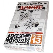 The New York Times Crossword Companion Roll A Puzzle System Volume 13 (48 Crossword Puzzles Refills)