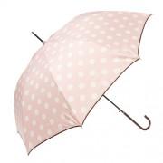 Clayre & Eef JZUM0004P Esernyő 98x55cm,rózsaszín-fehér pöttyös